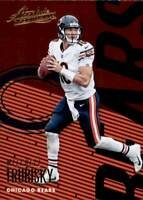 2018 Panini Absolute Base #16 Mitchell Trubisky Chicago Bears