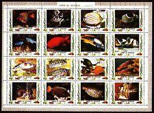 Umm al qiwain 1972 ** mi.1306/21 a peces Fish