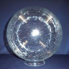 Blasenglas Ersatzglas Kugel, Glas für Außenleuchten Ø250mm, Kragen Ø100mm