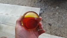 Indian Chief Scout Amberina Red Glass Taillight Tail Light Glass Lens