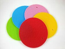 Honeycomb Heat resistant Cup mat silicon colourful mug bowl plate fruit new