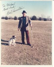 Bob Hamilton to Michael Autographed 8 x 10 Photo - JSA Authentication