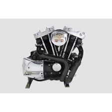 V-Twin Black LAF Exhaust Set for 1957-1985 Harley Ironhead Sportster