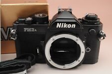 Nikon FM3A Black 35mm SLR Film Camera Body Only Exc++++ from Japan