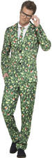 Mens Brussel Sprout Suit Christmas Fancy Dress Costume Smart Funny Smiffys 41010 L - Large