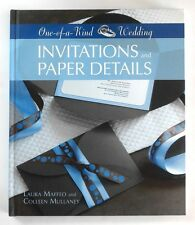 ONE OF A KIND WEDDING INVITATIONS AND PAPER DETAILS L Maffeo C Mullane - Nr MINT