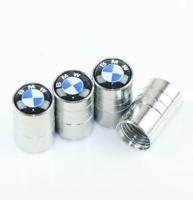 4 Ventilkappen BMW, Chrom, Performance, Tuning, Autoreifen, Metall