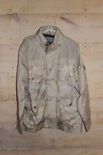 NWT Tommy Hilfiger Mens Jacket Coat Camo Tan Grey Gray...