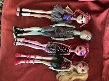 Monster High Doll Ballet 4 Pack (Lagoona Blue, Operetta, Rochelle, Gill)