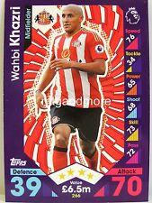 Match Attax 2016/17 Premier League - #266 Wahbi Khazri - Sunderland A.F.C.