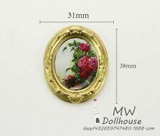 1:12 dollhouse miniature dollhouse accessories mini painting 1pcs toy gift flowe