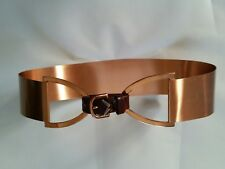 Vintage Renoir Copper Metal Belt with Buckle