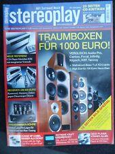 Stereoplay 11/05,t+a TCI 2 A, mcintosh mc 101, Meridian 808i, primalua Logue One, 2