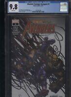 Absolute Carnage: Avengers #1 CGC 9.8 Venom AMAZING SPIDER-MAN Wolverine