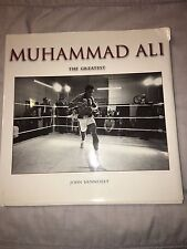 MUHAMMAD ALI The Greatest Boxing Hardcover Book 1999 John Hennessey NR MINT Rare