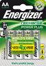 4x Energizer Power Plus AA 2000 mAh Akku (1x 4er Blister) Mignon NiMh 1,2V, HR6
