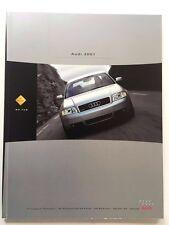 2001 Audi 70-page Sales Brochure Catalog - TT S8 A8 A6 Avant A4 S4 allroad