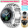 Replacement Bracelet Stainless Steel Watch Band Strap for Samsung Galaxy Watch 3