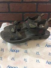 Columbia Omni-Grip Sport Sandals Men's Size 7 Hook N Loop Brown