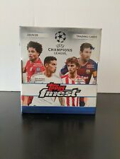 2019-20 Topps Finest UEFA Champions League Sealed Hobby Box !!! (Two Autographs)