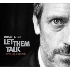 "HUGH LAURIE ""LET THEM TALK"" CD+DVD NEW+"