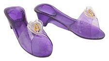 Scarpette Rapunzel Plastica Viola Trasparente Bambina (h2a)