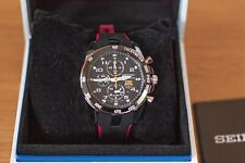 Seiko SNAE93P1 Sportura F C Barcelona Chronograph Men's Brand New Watch