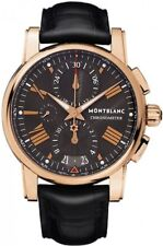 Brand New MontBlanc Star 4810 Men's Solid 18k Rose Gold Chronograph Watch 104275