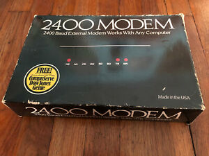 Vintage 2400 Modem