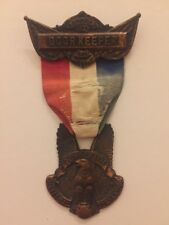 1908 Democratic National Convention William Jennings Bryan Doorkeeper Badge