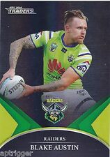 2016 NRL Traders Black Parallel Special (PS006) Blake AUSTIN Raiders