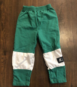 Vintage 90s Starter Youth Sweatpants Joggers Green Size 4