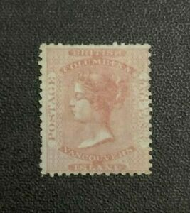 British Columbia Stamp #2a Mint Hinged