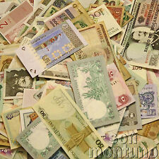 ONE OUNCE OF MIXED WORLD BANKNOTES - Paper Money Collection - GREAT GIFT SET