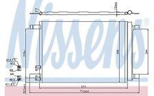 NISSENS Condensador, aire acondicionado OPEL VOLKSWAGEN GOLF RENAULT 940319