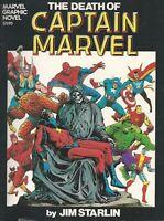 Captain Marvel: The Death of Captain Marvel, Jim  Starlin, Steve  Englehart, nm