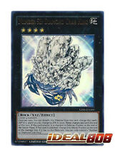 YUGIOH x 1 Number 52: Diamond Crab King - Ultra Rare - YZ06-EN001 - Limited Edit