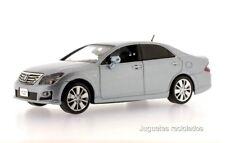 1/43 J-COLLECTION TOYOTA Crown Hybrid 2008 Light Blue Mice  DIECAST MODEL CAR