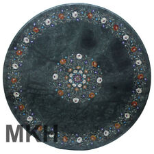 Italian Marble Dining Table Top Coffee Table Inlay Stones Marquetry Vintage Art