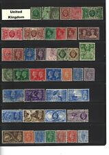 United Kingdom - 400+ item specific stamps with few duplicates
