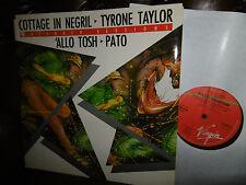 "Tyrone Taylor, Cottage in Negril, Pato Allo Tosh, Reggae, Maxi UK  LP, 12"" 1985"
