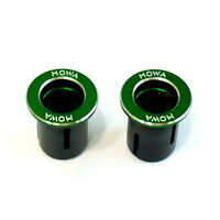 gobike88 MOWA Bar End Caps/Plugs, 25g, Green, A72
