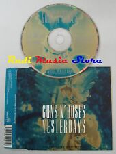 CD Singolo GUNS 'N' ROSES Yesterdays GEFFEN 1992 GFSTD 27 no mc lp dvd (S3)