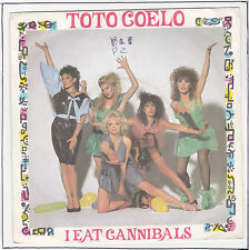 "TOTO COELO Vinyl 45 tours SP 7"" I EAT CANNIBALS VIRGIN STEREO F Reduit RARE"