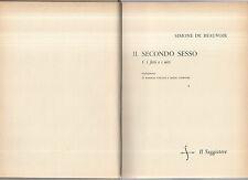 simone de beauvoir - il secondo sesso - i fatti e i miti - lugsxtus