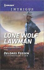 Lone Wolf Lawman by Delores Fossen (2017, Paperback) Appaloosa Pass Ranch