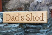 440mm Solid Oak House Door Gate Wooden Sign CNC Carved - Personalised