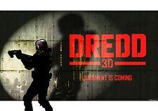 Dredd 2012 Dessin original A3 Anime Style poster