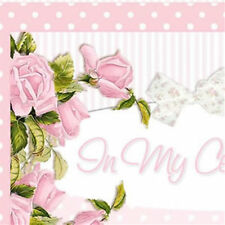 Shabby Vtg Chic Pink Roses Boutique Ebay Compliant Listing Auction Template