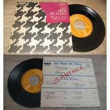 LES PIEDS DE POULE - Jazz Band ... Partout French PS 7' Jazz 1970